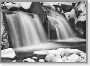 Cover of: Winter Waterfall (Large Holiday Cards) | Peter Pauper Staff