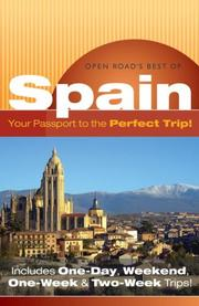 Cover of: Open Road's best of Spain