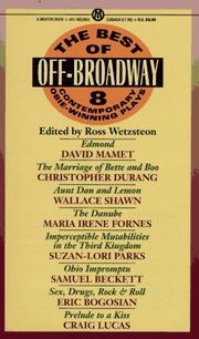 Cover of: The Best of off-Broadway |
