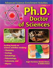 Cover of: Ph. D. -  Doctor of Sciences | Angie Harrelson
