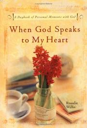 Cover of: When God Speaks to My Heart | Rosalie Willis