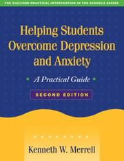 Cover of: Helping Students Overcome Depression and Anxiety