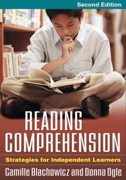 Cover of: Reading Comprehension, Second Edition: Strategies for Independent Learners