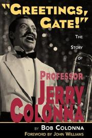 Cover of: The Story of Professor Jerry Colonna