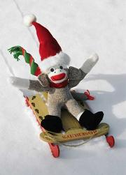 Cover of: 3751 - Sock Monkey Boxed Holiday Cards | Dee Lindner