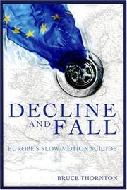 Cover of: Decline and Fall