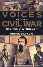 Cover of: Voices of the Civil War (Meridian)