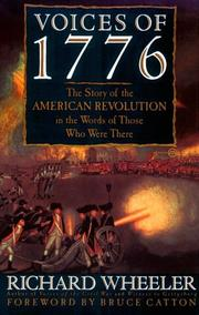 Cover of: Voices of 1776: The Story Of The American Revolution