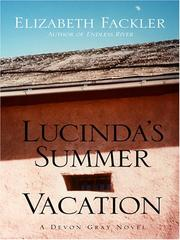 Cover of: Lucinda's Summer Vacation