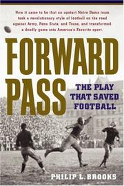 Cover of: Forward Pass | Philip L. Brooks