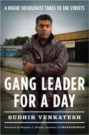 Cover of: Gang Leader for a Day