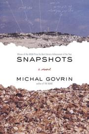 Cover of: Snapshots | Michal Govrin
