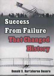 Cover of: Success From Failure That Changed History | Carl Edwin Conley