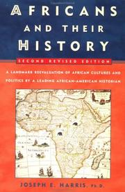 Cover of: Africans and their history | Harris, Joseph E.