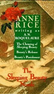 Cover of: Sleeping Beauty 3-copy boxed set | Anne Rice