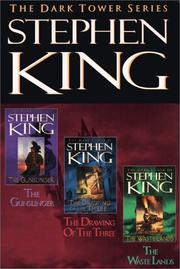 Cover of: The Dark Tower, Books 1-3: The Gunslinger, The Drawing of the Three, and The Waste Lands