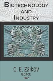 Cover of: Biotechnology And Industry