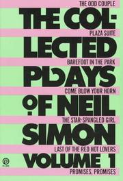 Cover of: The collected plays of Neil Simon