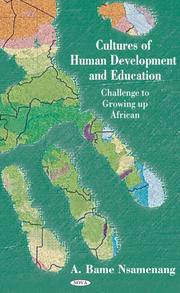 Cover of: Cultures Of Human Development And Education