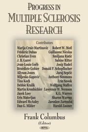 Cover of: Progress in Multiple Sclerosis Research