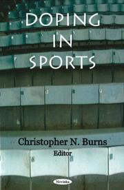 Cover of: Doping in Sports | Christopher N. Burns