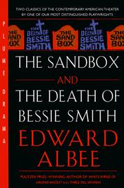Cover of: The Sandbox and The Death of Bessie Smith