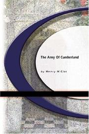 Cover of: The Army of the Cumberland | Henry M. Cist