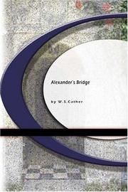 Cover of: Anexander's Bridge