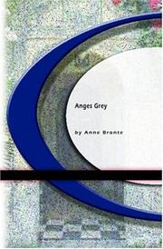 Cover of: Anges Grey