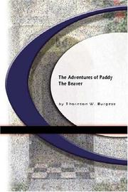 Cover of: The Adventures Of Paddy The Beaver