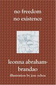 Cover of: No Freedom No Existence