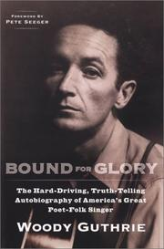 Cover of: Bound for Glory (Plume)