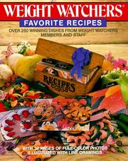 Cover of: Weight Watchers Favorite Recipes | Weight Watchers International