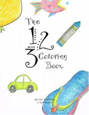 Cover of: The 123 Coloring Book
