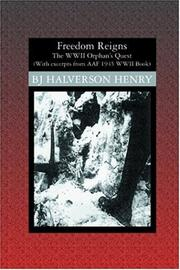 Cover of: Freedom Reigns | BJ Halverson Henry