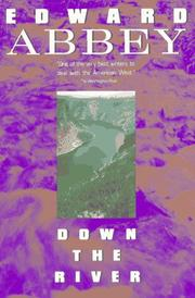 Cover of: Down the river | Edward Abbey