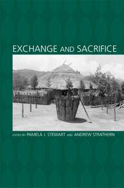 Cover of: Exchange and sacrifice