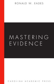 Cover of: Mastering Evidence (Mastering)