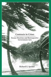 Contracts in Crises