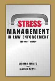 Cover of: Stress Management in Law Enforcement, Second Edition |