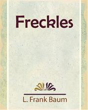 Cover of: Freckles - 1916