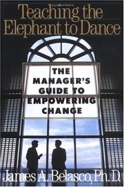 Cover of: Teaching the elephant to dance