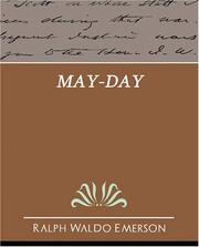 Cover of: May-Day: and Other Pieces