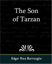 Cover of: The Son of Tarzan | Edgar Rice Burroughs