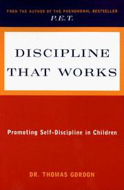 Cover of: Discipline that works