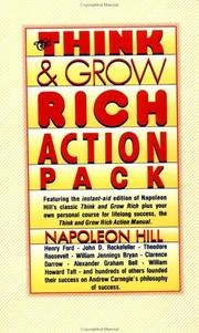Cover of: Think and Grow Rich Action Pack