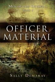 Cover of: Officer Material | Sally Demaray