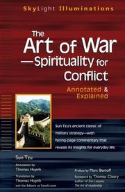 Cover of: The art of war-- spirituality for conflict