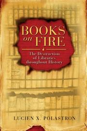 Cover of: Books on fire