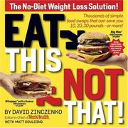 Cover of: Eat This Not That | David Zinczenko